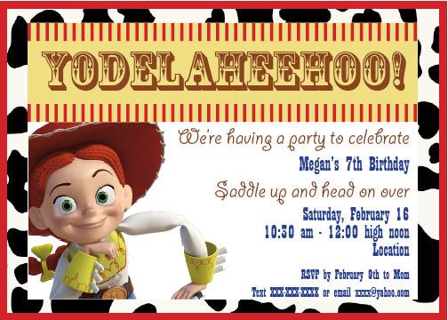 The Chop Haus Toy Story Jessie Birthday