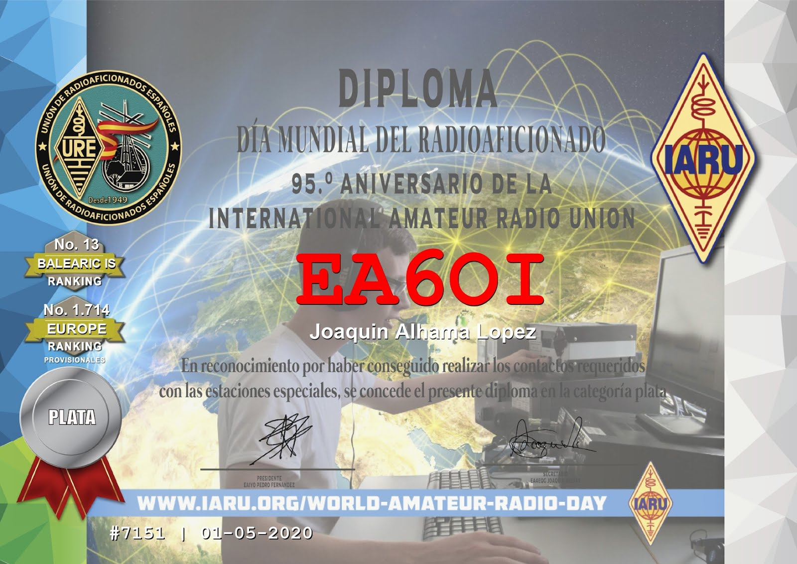 dpl dia mundial del radio aficionado