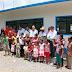 Inauguran aula en la comunidad km 15 de Monte Blanco