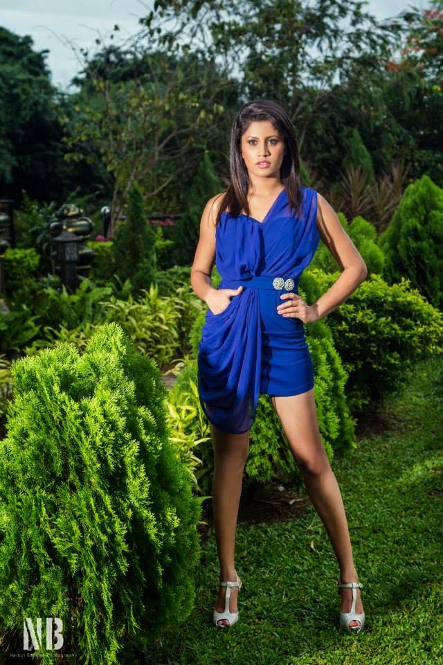 Oshadi Himasha blue hot