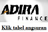 Tabel Angsuran Adira Finance