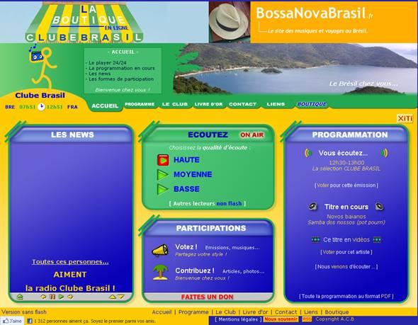 clube brasil, musique brésilienne