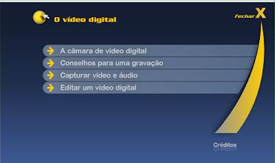 CURSO DE INFORMÁTICA E INTERNET - O VÍDEO DIGITAL
