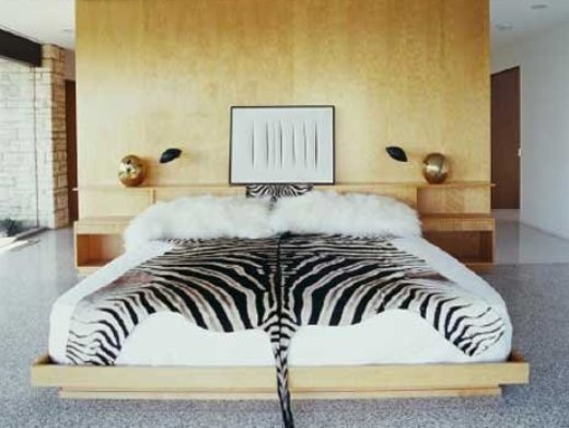 Image : [4] ~ [Room Decorating Ideas Amazing Bedroom With Zebra