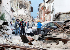 EARTHQUAKE IN ITALY LEAVES MANY DEAD.