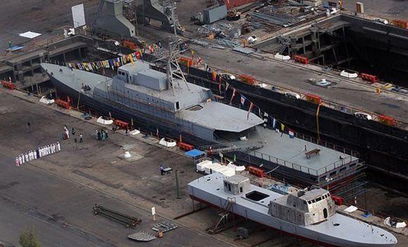 Kapal frigat Iran