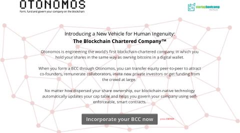 Page d'accueil Otonomos
