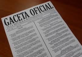 GACETA OFICIAL Nº 40.966 - 15 DE AGOSTO DE 2016