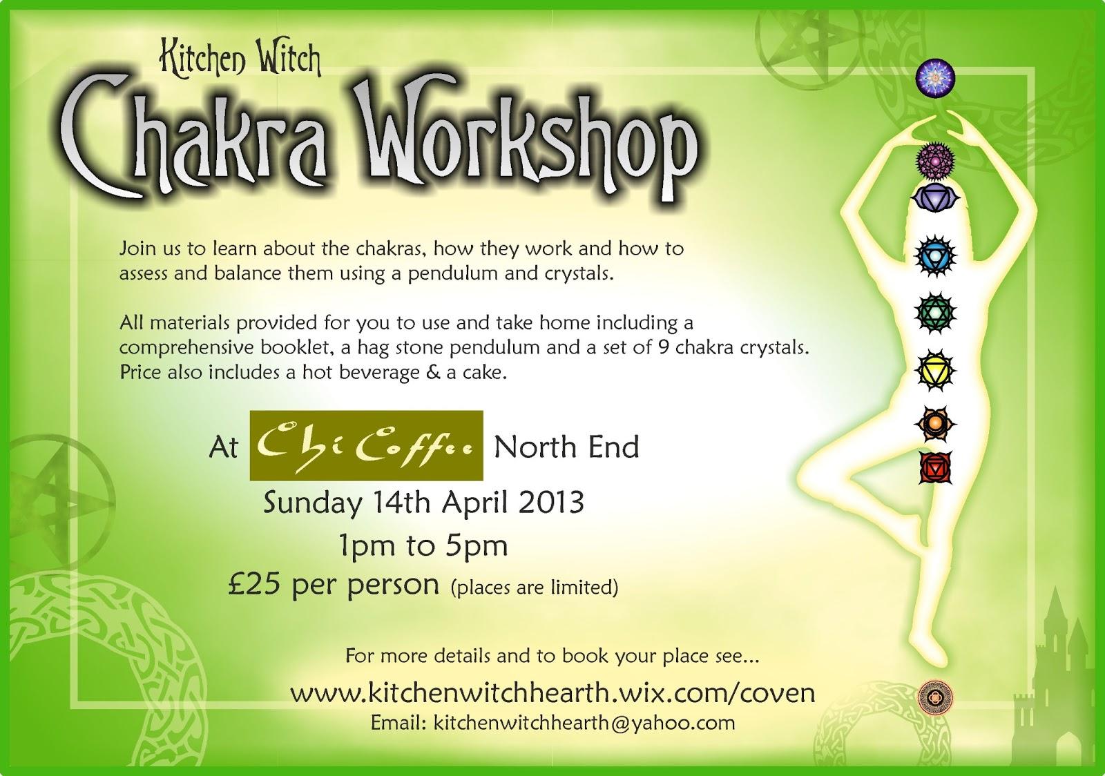 Kitchen Witch Blog: Chakra Workshop