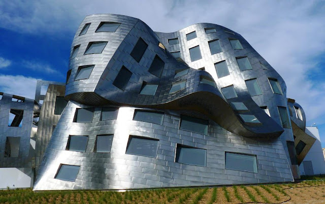 architecture, buildings, frank gehry, las vegas, lour ruvo building, united states, architecture, awesome, cool, design, weird, strange