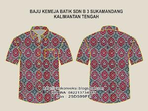 Baju Batik  SD Seruyan KALIMANTAN TENGAH