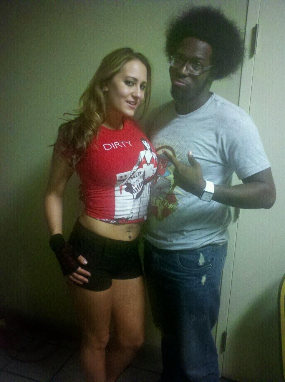 Trina Michaels And Sugar Dunkerton In Atlanta Ga April 2011