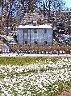 Goethes Gartenhaus im Weimarer Park an der Ilm