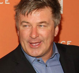 Alec Baldwin off airplane