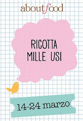 "Partecipo al contest ""Ricotta mille usi"""