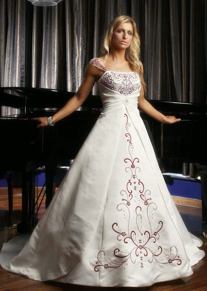 Celtic Wedding Dresses Cap Sleeves Long Trains Australia pictures hd