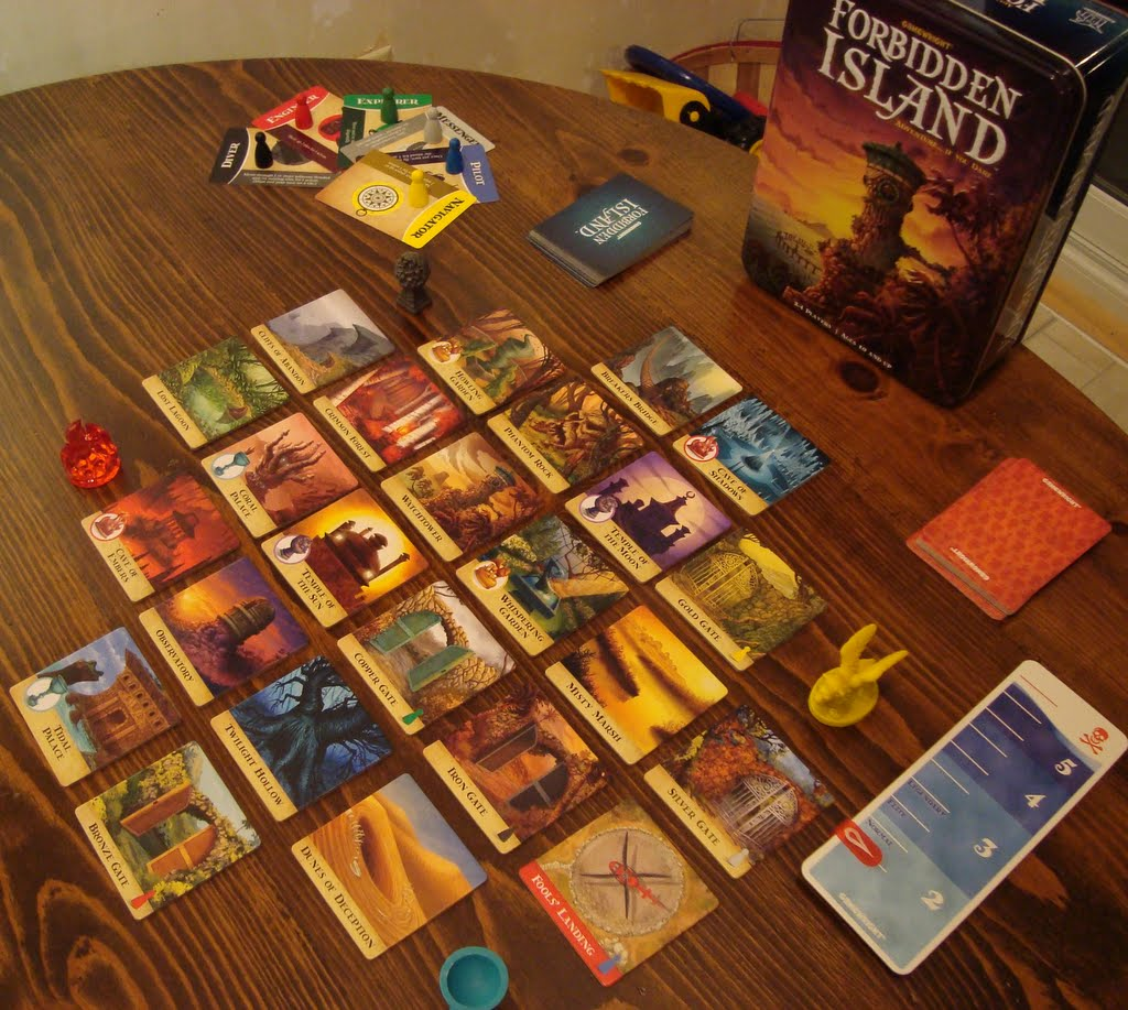 Board Game Geek Forbidden Island