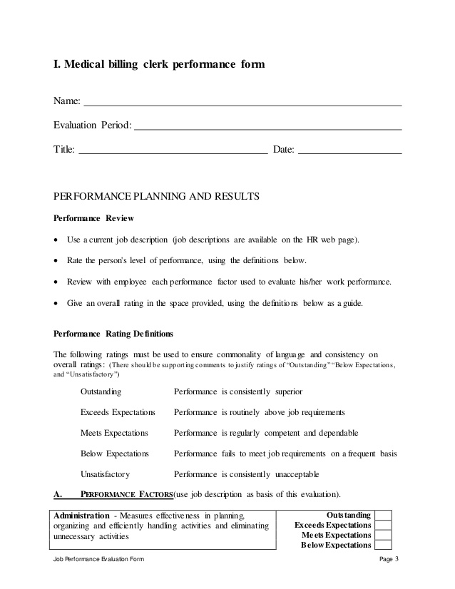 Clinical Coder Medical Billing Clerk Job Description – Medical Record Clerk Job Description