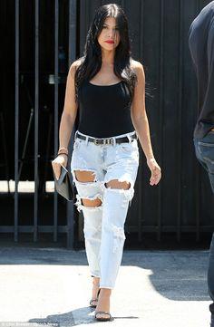 Kourtney Kardashian street style