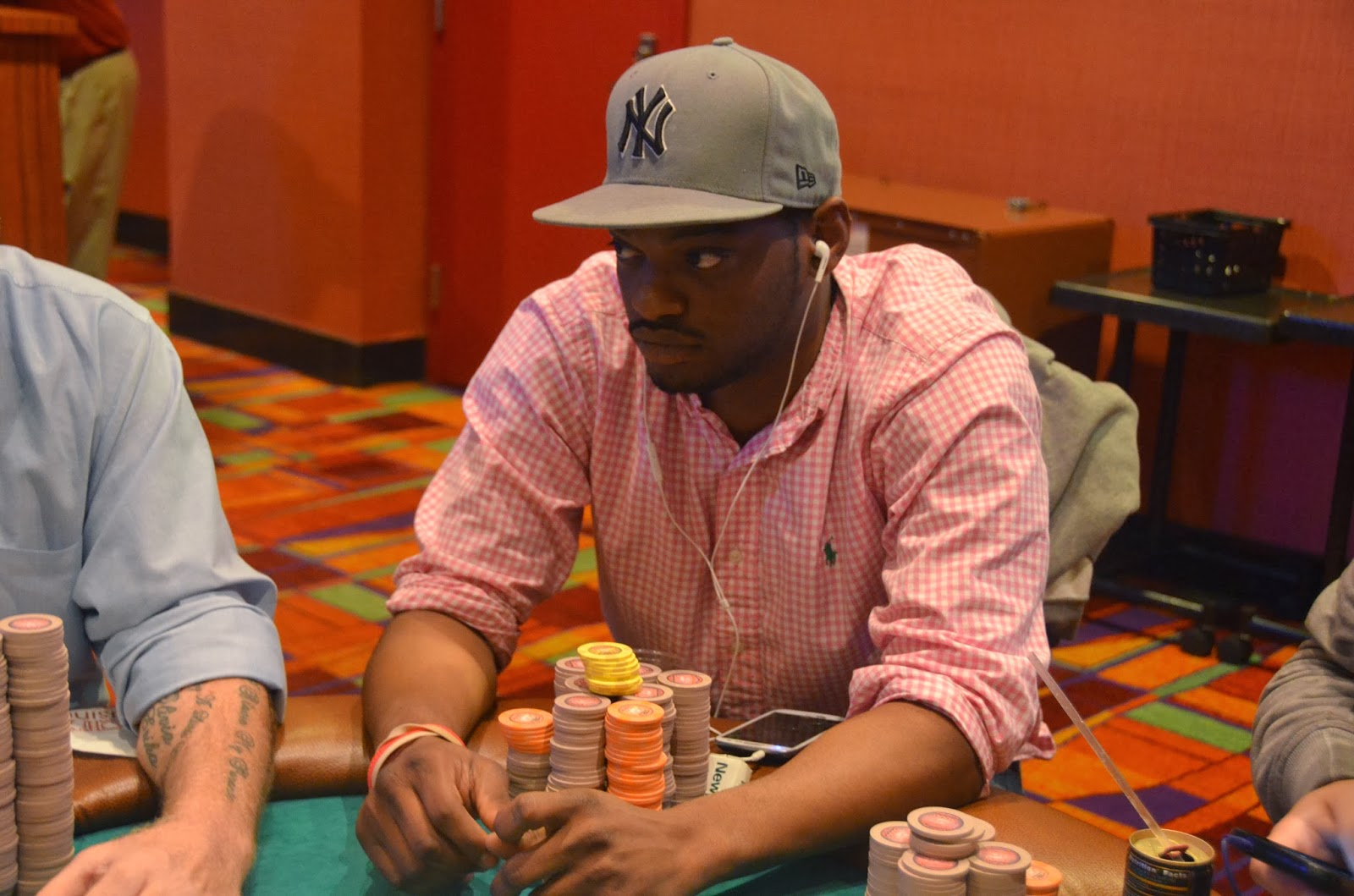 Parx big stax iv big stax 300 day 3 20th place hillard 2 429 for Parx poker room live game report