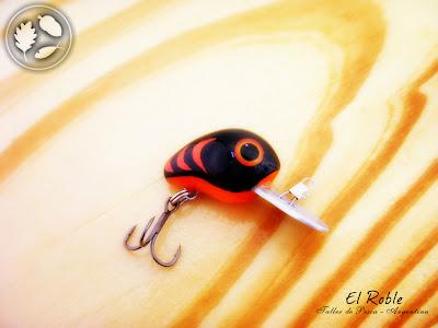 el roble taller de pesca señuelo artesanal crank ul handmade crank ul fishing lure