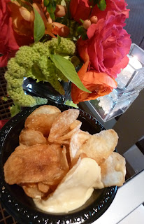 Handmade potato chips at the Woodmark Hotel  - Photo by Patricia Stimac, Seattle Wedding Officiant