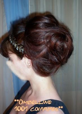 Tutoriel coiffure: Chignon à la mode gréco-romaine ...