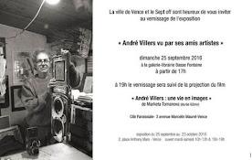 Exposition : Les amis d'André Villers