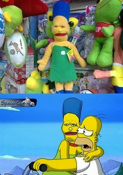 funny Marge Simpson picture