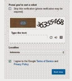 Cara Membuat akun Gmail 3