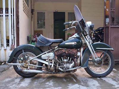 Harley Davidson WL 750cc 1947