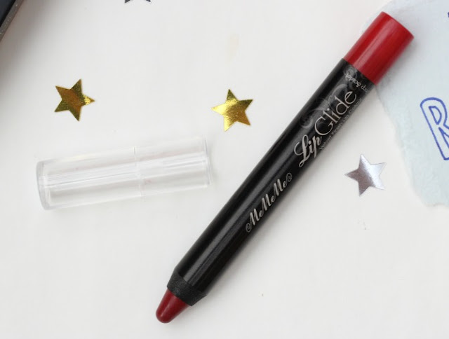 MeMeMe Lip Glide in deep scarlett
