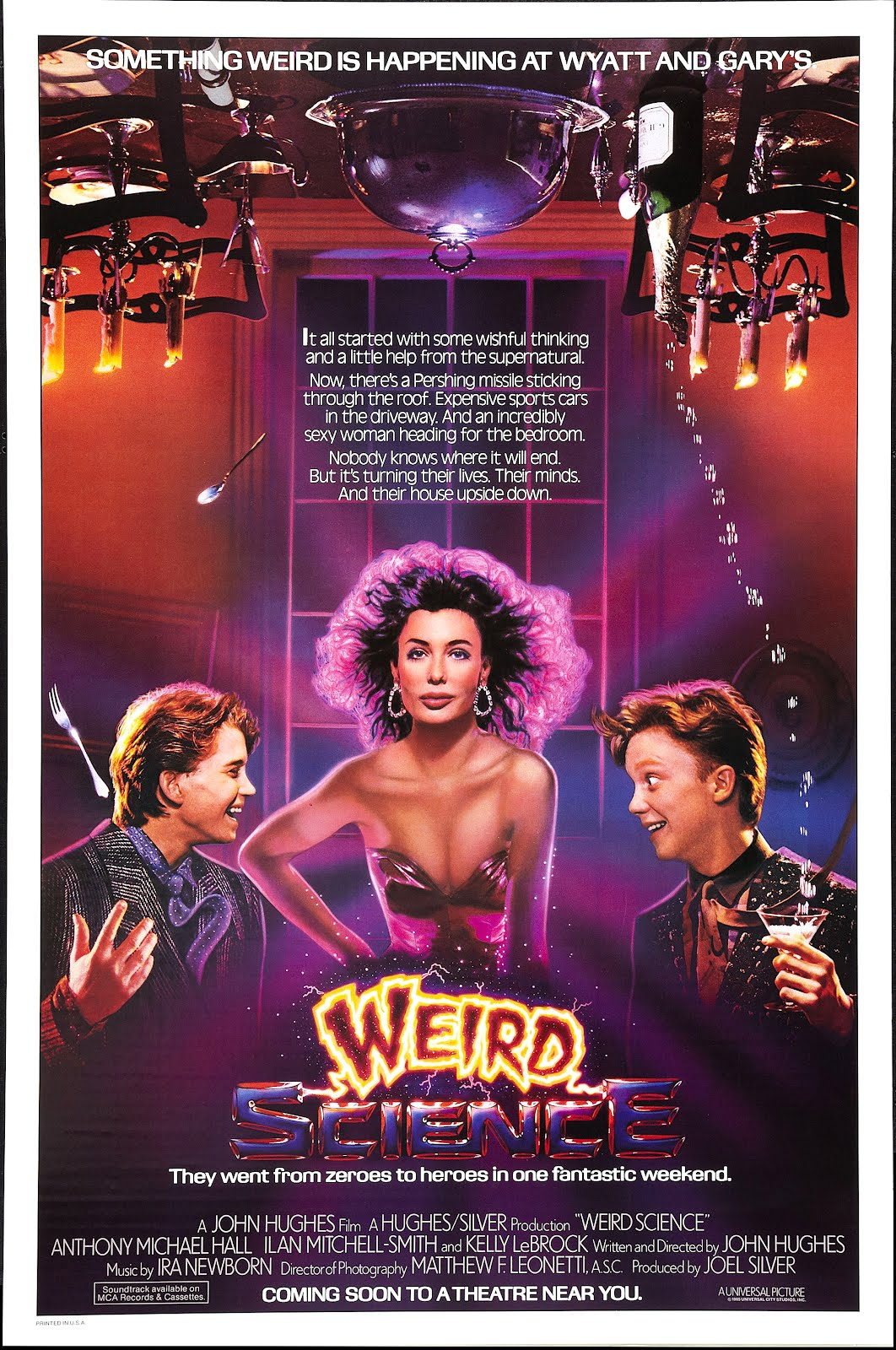 Out of the Box: Weird Science