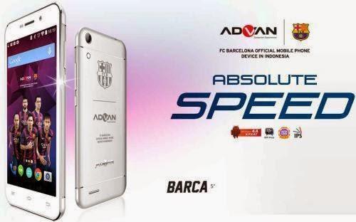 Advan Barca 5, Spesifikasi Android Official Barcelona Harga 1,9 Juta