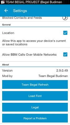 Download BBM Mod Official 2.9.0.49