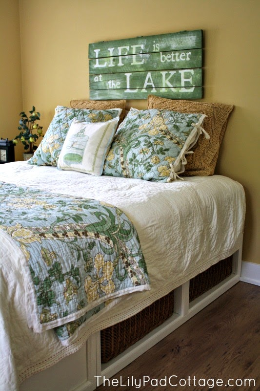 Signs for the Lake Hous,  Lake house decor, lake decor, lake house decorating, lake house decorating ideas, lake house guest bedroom decor