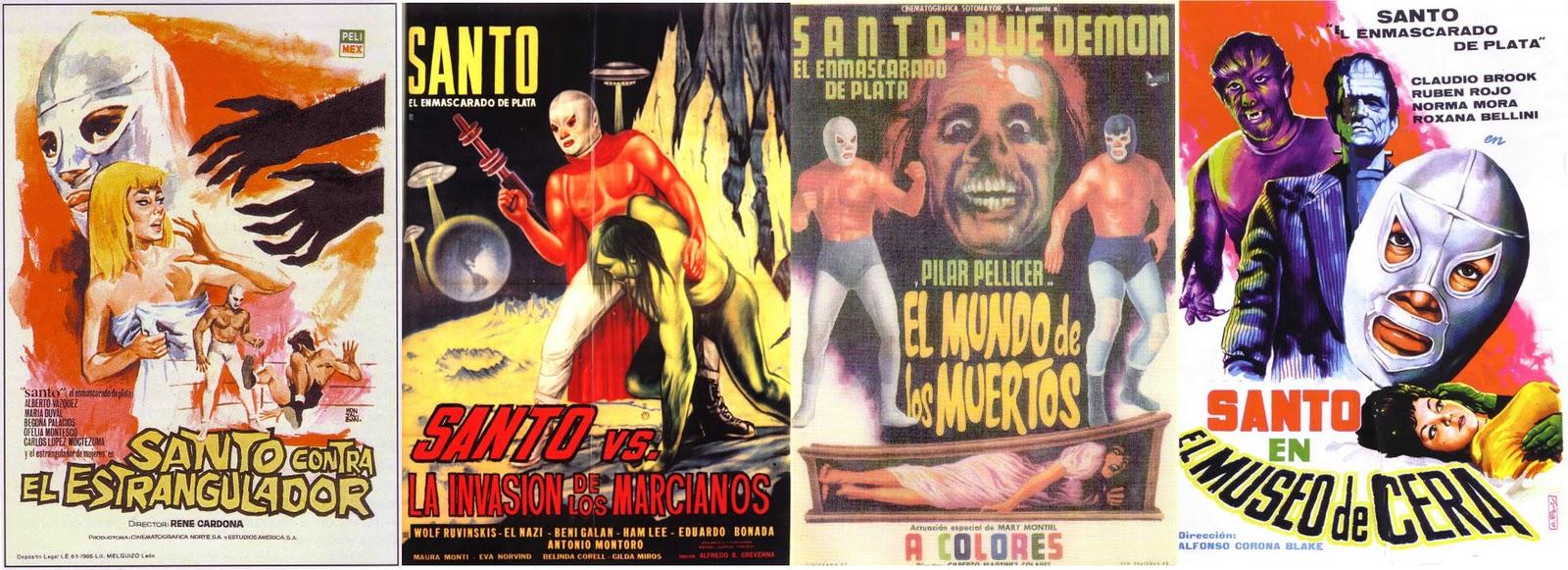 las pel culas del santo fueron consideradas verdaderas joyas de un supuesto cine surrealista mexicano pues suponen que la ingenuidad y el extremo