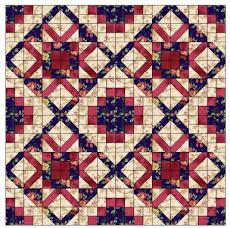Simple Steps Patterns - Florene Elaine Quilt  $5