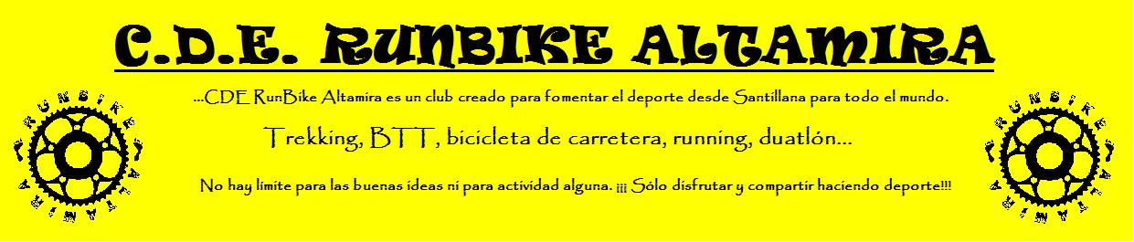 CDE RUNBIKE ALTAMIRA