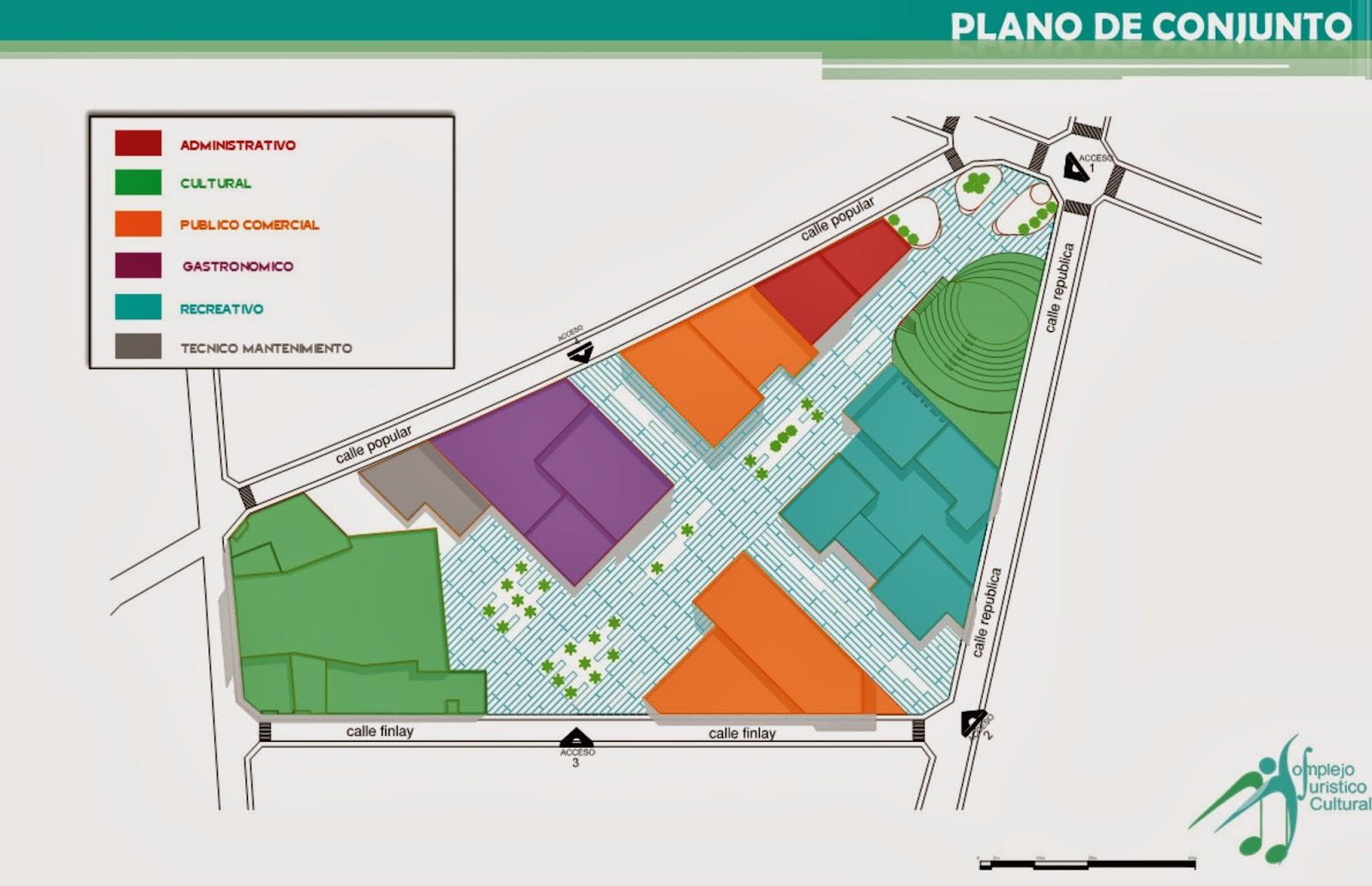 Complejo tur stico cultural proyecto arquitectonico for Pie de plano arquitectonico pdf
