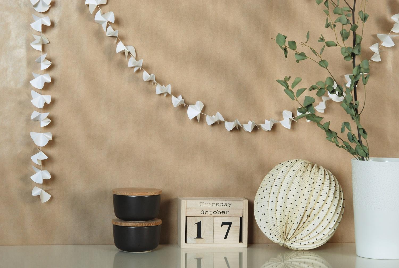 La Tazzina Blu: Wishlist: Le Ghirlande Di Carta Di Mi Avril #654C33 1500 1005 Come Addobbare Una Sala Da Pranzo Per Natale