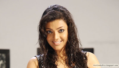 Kajal Agarwal Hot and Shiny Pics on wet hair