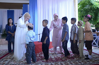 Di OKI, Tahun Baru Islam disemarakkan dengan Dzikir Akbar Menyantuni Anak yatim