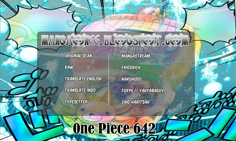 CREop One Piece 642   Menghancurkan Harga Diri