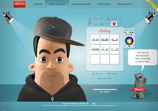онлайн сервис ClayYourself для бесплатного создания аватарки