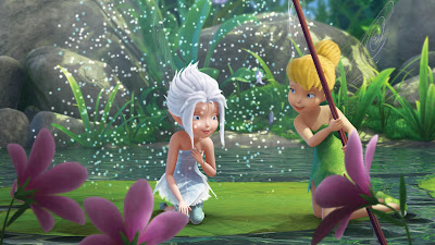 Picture from Disney animated film Tinker Bell and the Secret of the Wings