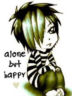 I Am Alone But Happy Wallpaper BE THE ROCKERZZZzzzzzz...