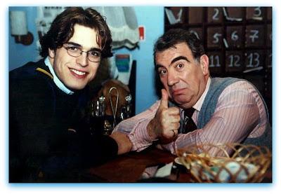 """Imagem de Diogo Morgado em 2001, como Raul, na série para a RTP """"Estação da Minha Vida"""""""