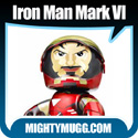 Iron Man 2 Movie Mark IV Marvel Mighty Muggs Exclusives Thumbnail Image 1 - Mightymugg.com