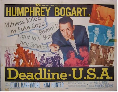 DEADLINE-U.S.A. (1952)